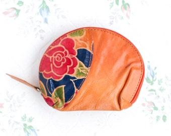 Colorful Leather Coin Purse - Little Change Wallet