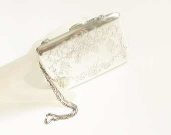 Antique Art Nouveau Sterling Dance Purse 1909 England