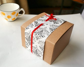 Polvorones and Sampaguita Cookie Box