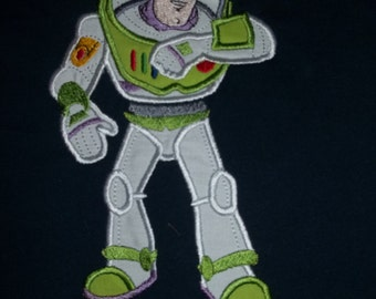 Buzz Lightyear Short Sleeve Appliqued Tshirt - Infant and Toddler Size Tshirt - 6 months to 5/6