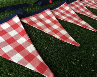 Red Checked bunting