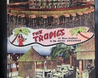 The Tropics Vintage Tiki Art