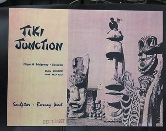 Tiki Junction Vintage Tiki Art