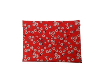 iPad mini case padded, iPad mini cover, iPad mini sleeve - garance floral fabric