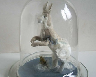 White Hare **RESERVED, not for sale**