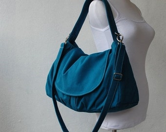 CHRISTMAS in July 30% + Mysterious Gift - Fortuner in Teal / Purse / Laptop/ Shoulder bag / Handbag / Purse / Hobo / Gift for her /Women