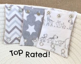 BABY BODYSUIT EXTENDERS/ Expanders.  Add a size to your bodysuits. Also great for cloth diaper wearers.