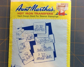 Aunt Marthas hot iron transfer - 3594 Motifs for Children embroidery or paint