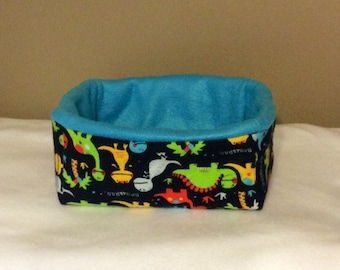 Rectangle Dinosaur Small Animal Bed