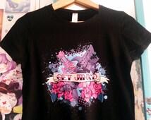 League of Legends Get JINX 'D! tattoo style t-shirt