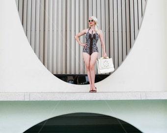 Ashlyn Coco meets E Stewart Williams - Palm Springs photo print by Tayva Martinez
