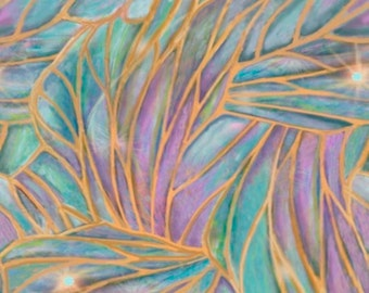 DREAMLAND lt multicolor stained glass look by the half yard by Quilting Treasures 100% cotton quilt fabric24275 x