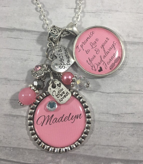... Daughter Gift, Wedding Gift, Step Daughter Necklace Gift, Daughter to