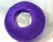 Lizbeth Tatting Thread - Dark Lilac - Color #641 - Size 20 - Handy Hands - Your Choice of Amount