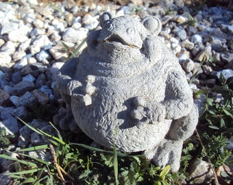 Frog Toad Stone Statuary