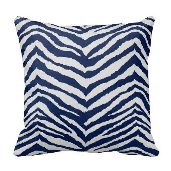 Animal Print Outdoor Pillows Navy Blue Outdoor Throw Pillows
