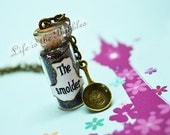 Tangled Necklace, The Smolder Necklace with a Frying Pan charm, Flynn Rider Cosplay Disney Bound, Tangled Cosplay, by Life is the Bubbles