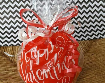 4+ Valentine Gift or Party Favors - 12 oz. Homemade Chex Party Mix - Classmates, Co-Workers