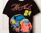 90s NASCAR Jeff Gordon 24 Racing Tshirt - L