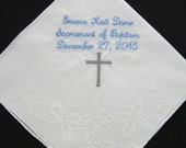 Embroidered Baptismal Han...
