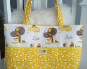 Reserved for Alexa / Winnie the Pooh Yellow Diaper bag