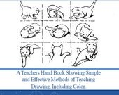 Augsburgs Drawing ~ A Teachers Hand Book on How To Teach Drawing 186 Pages Illustrated Printable or Read on Your Tablet Instant Download