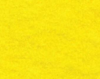 """1 Yards Yellow Acrylic Felt FQ - 72"""" wide"""