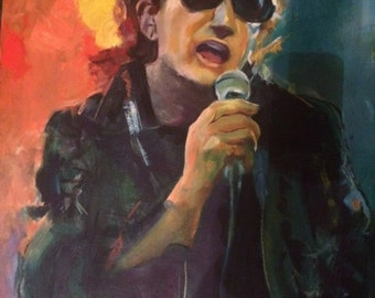 Bono as The Fly