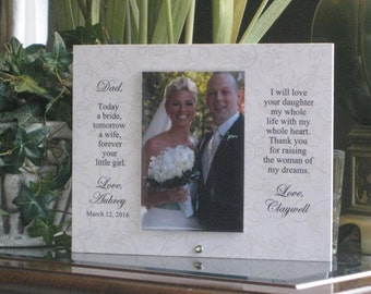 FATHER Of BRIDE, 4x6 photo, SAYING Choice