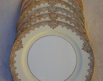 Vintage Noritake Garland Dinner Plates