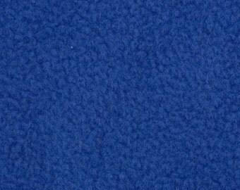 Anti Pill Solid Color Polar Fleece Fabric by the yard - Royal
