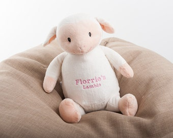 Personalised Lamb Soft Toy