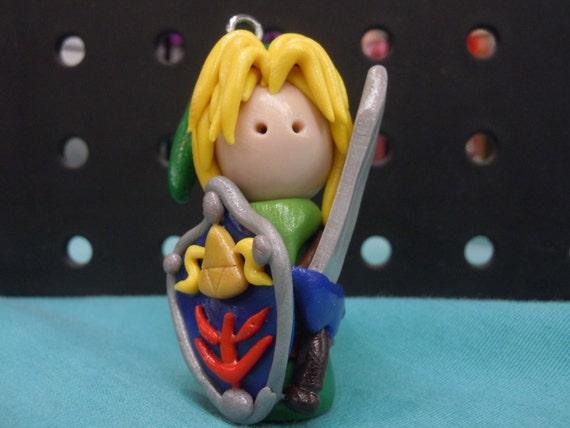 Link, Legend of Zelda, Video game, Holiday Ornament, Figure, Gamer Gift,