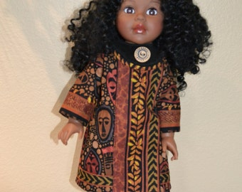 Lovely ethnic outfit for your 18 inch doll