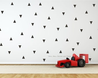 Triangle Shape Wall Decals- geometric decals