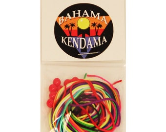 Bahama Kendama 10-Pack of Kendama Strings *Lots of Colors* Tips of String Waxed*