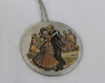 Reed and Barton Damascene Necklace