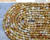 Sale 5-7X 5-8mm Natural Yellow Opal Polished Gemstone Pebble Nugget Beads, 16 Inch Strand (IND2C42)