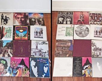 Classic Rock RECORDS Lot 12 60s 70s Bowie Dead Beatles Floyd Hendrix