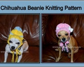 Chihuahua Beanie Hat  Instant Download Knitting Pattern