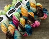 classic {sock}  | KARMA | ready to ship | hand dyed yarn | merino nylon