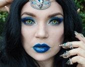 Blue fairy circlet
