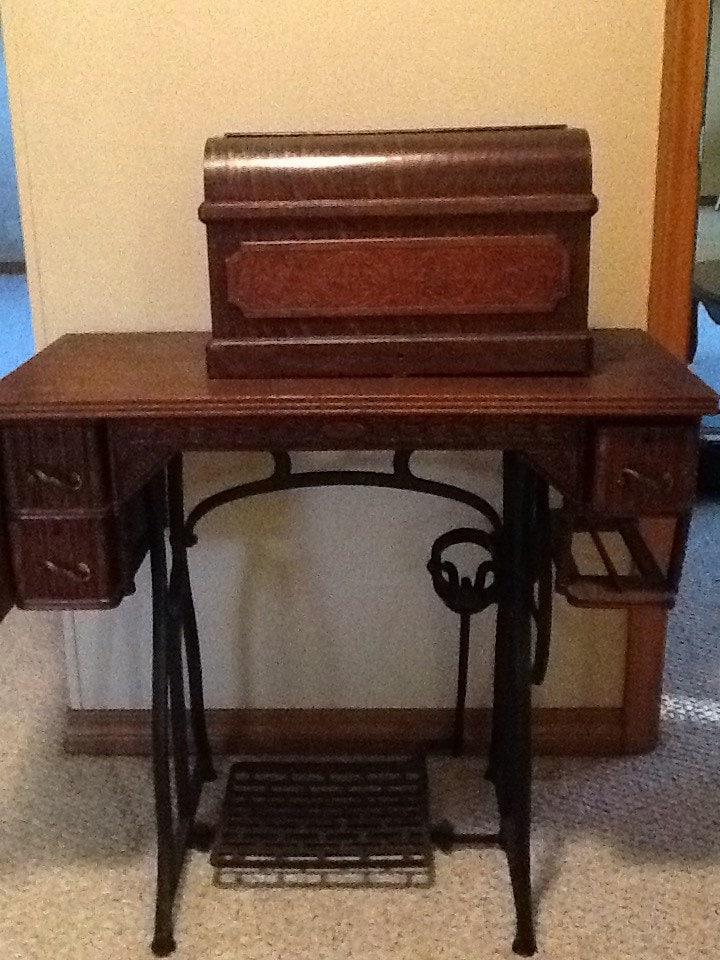 wilson and wheeler sewing machine