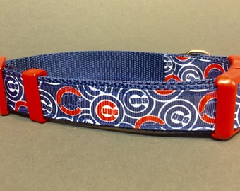 Chicago Cubs Inspired Dog Collar ...2.0