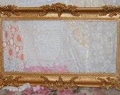 SALE,Vintage, Syroco, Ornate Frame, Wall Frame, Shabby Chic, Gold Ornate Frame, Hollywood Regency, Photo Prop