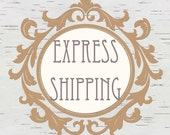 UPGRADE To Express Shipping & Expedited Printing / Contact Shop Prior To Purchase / No Coupon Codes Can be Applied