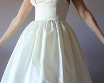 Short wedding dress, casual wedding dress