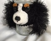 Dog Treat Jar ~ Cavalier King Charles Treat Jar ~ Cavalier King Charles Spaniel ~ Gift for Cavalier King Charles Owner ~ Treat Container -