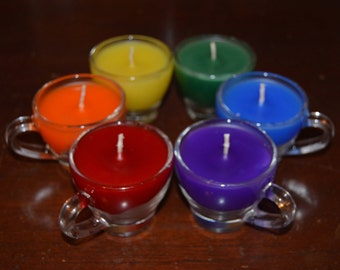 Mini Wax Play Candle - Container Pouring Candle- Low Temp - BDSM - Kink candles - Unscented Bondage Candle