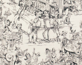 Alexander Henry - Nicole's Prints - Deadwood Saloon - Black